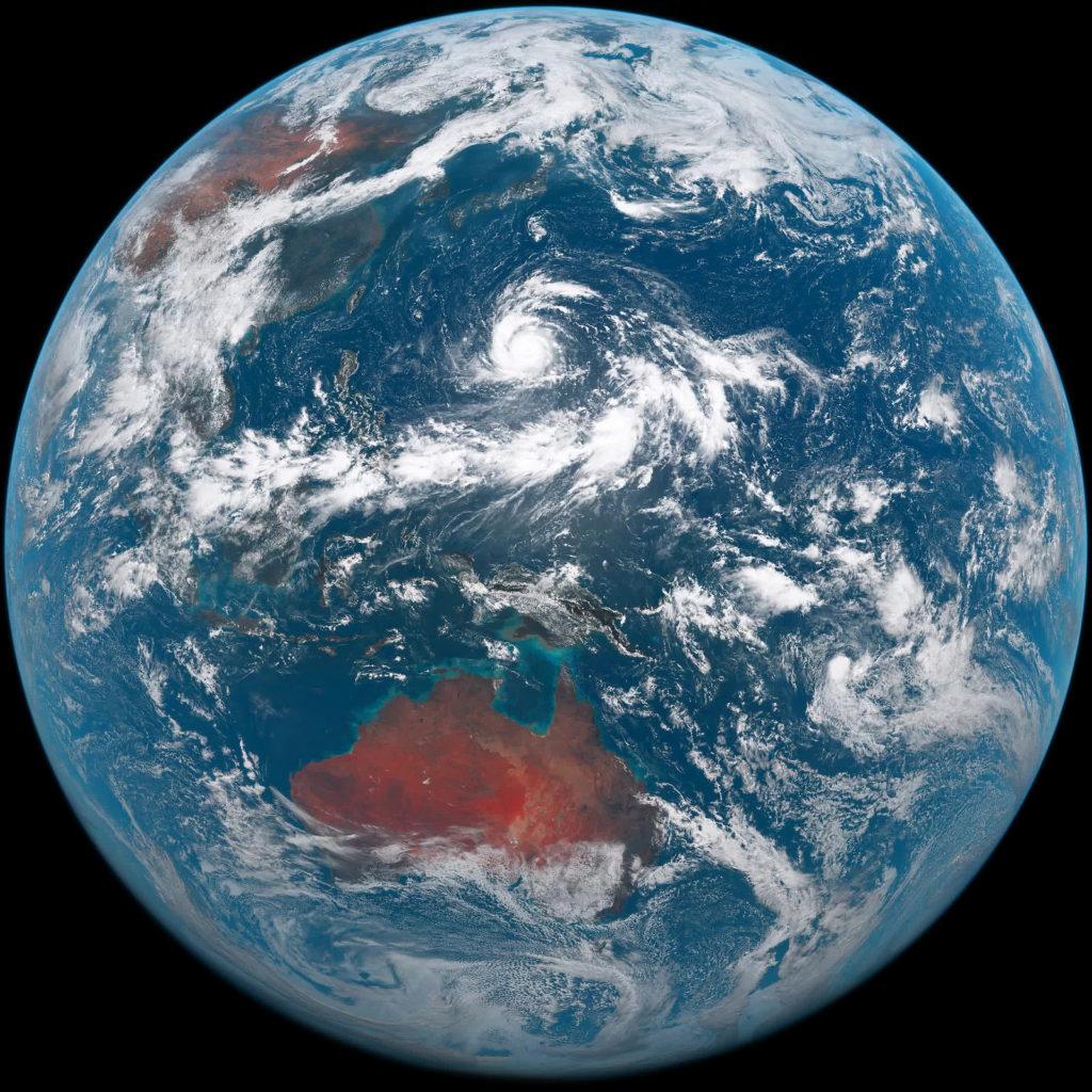 Himawari-8 satellite image